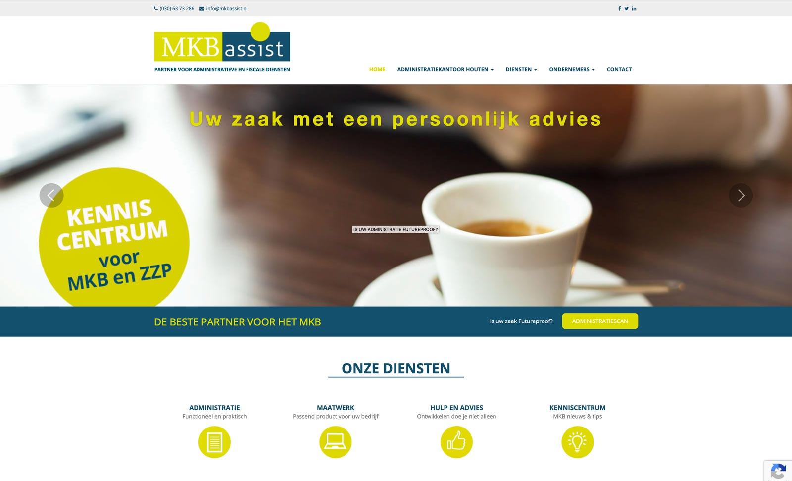 MKB Assist verzorgt financiële administraties en geeft belastingadvies.